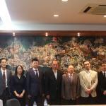 Visita da Academia de Ciências Sociais da China ao IIM